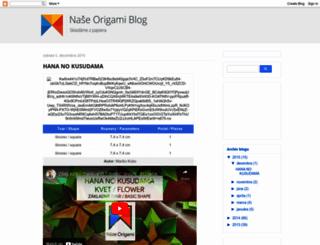 nase-origami.blogspot.sk screenshot
