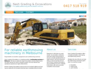 nashgrading.com.au screenshot