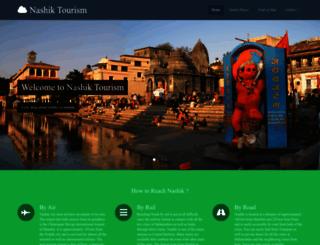 nashiktourism.in screenshot