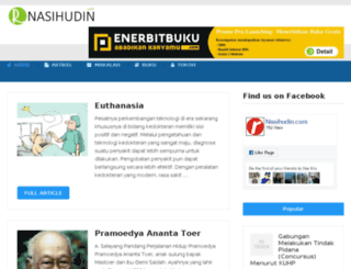 nasihudin.com screenshot