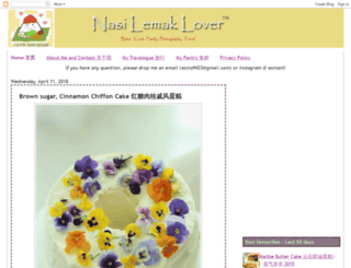 nasilemaklover.blogspot.co.nz screenshot