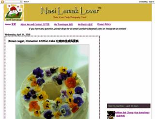 nasilemaklover.blogspot.com screenshot