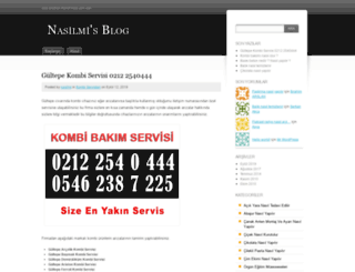 nasilmi.wordpress.com screenshot