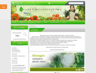 nasiona-holenderskie.pl screenshot