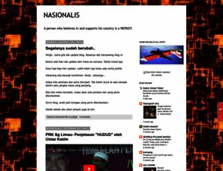 nasionalis1982.blogspot.com screenshot