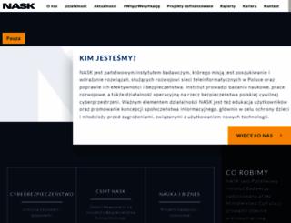 nask.pl screenshot