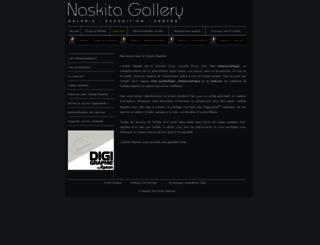 naskita-gallery.com screenshot