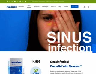 nasodren.com screenshot