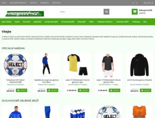 nasport.cz screenshot