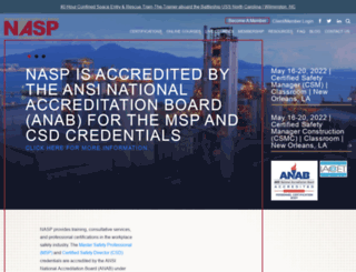 naspweb.com screenshot