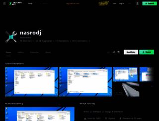 nasrodj.deviantart.com screenshot