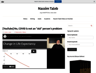 nassimtaleb.org screenshot