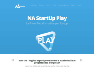 nastartup.it screenshot