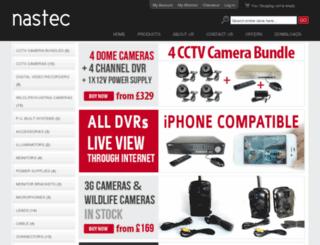 nastec.co.uk screenshot
