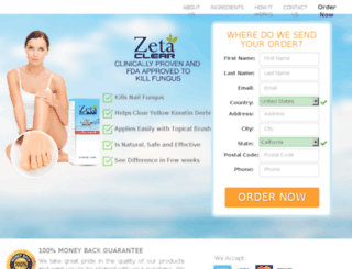 nastytoenailfungus.com screenshot