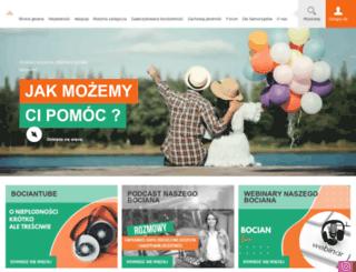 nasz-bocian.pl screenshot
