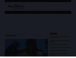 naszamlawa.pl screenshot