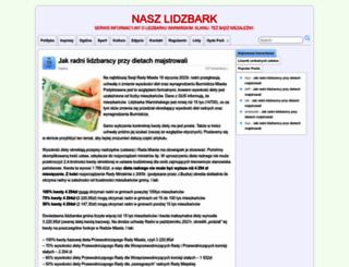 naszlidzbark.pl screenshot