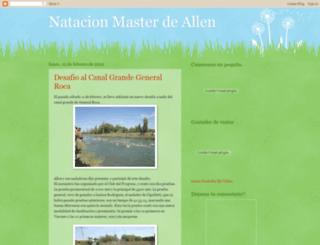 natacionmasterallen.blogspot.com screenshot
