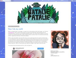 natalie-patalie.blogspot.com screenshot