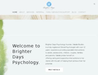 natalieboulterpsychologist.com screenshot