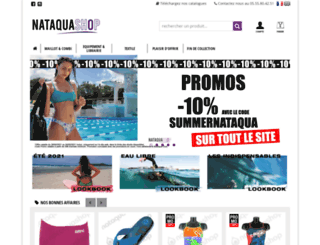 nataquashop.com screenshot