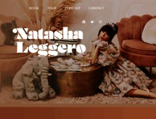 natashaleggero.com screenshot