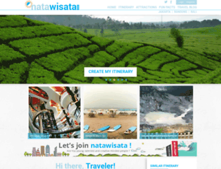 natawisata.com screenshot