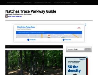 natchez-trace.thefuntimesguide.com screenshot