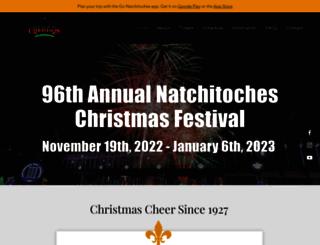 natchitocheschristmas.com screenshot