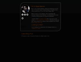 natebal.com screenshot