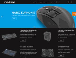 natec-zone.com screenshot