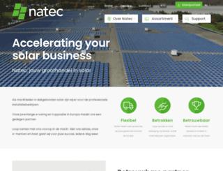 natec.be screenshot