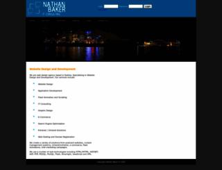 nathanbaker.com.au screenshot