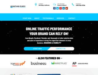 nathanolnick.com screenshot