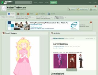 nathanthebrotato.deviantart.com screenshot