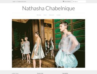 nathashachabelnique.com screenshot