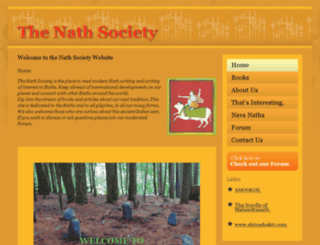 nathsociety.org screenshot