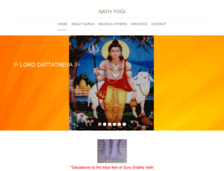 nathyogi.com screenshot