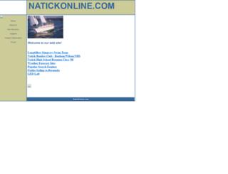 natickonline.com screenshot
