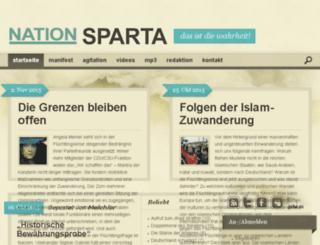 nation-sparta.net screenshot