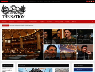 nation.com.pk screenshot