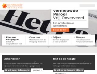 nationaal.wegenermedia.nl screenshot