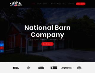 nationalbarn.com screenshot