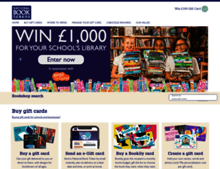 nationalbooktokens.com screenshot