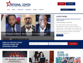 nationalcenter.org screenshot