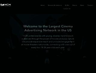 nationalcinemedia.com screenshot