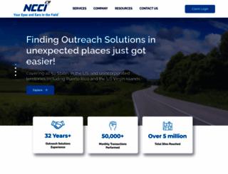 nationalcreditors.com screenshot