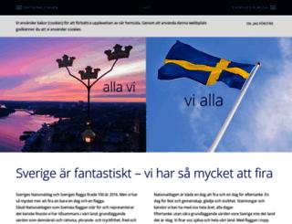 nationaldagen.se screenshot