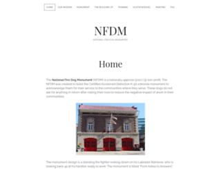 nationalfiredogmonument.com screenshot